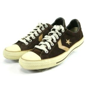 Converse Men's Low Top Sneakers Size 10.5 Brown